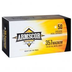 Armscor .357 Magnum 158 Gr. Full Metal Jacket- Box of 50