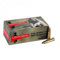 Centurion Varmit 5mm Remington 30 Gr. Jacketed Hollow Point- Box of 50