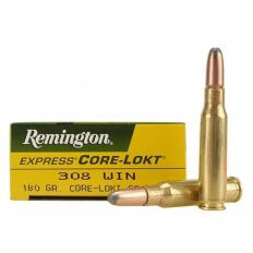 Remington Express .308 Winchester 180 Gr. Core-Lokt Soft Point- Box of 20