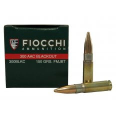 Fiocchi Shooting Dynamics .300 AAC Blackout 150 Gr. Full Metal Jacket Boat Tail- Box of 50