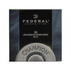 Federal Large Rifle Magnum Primers #215- Box of 1000 (HAZMAT Fee Required)