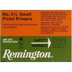Remington Small Magnum Pistol Primers #5-1/2- Box of 1000 (HAZMAT Fee Required)