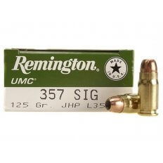 Remington UMC .357 Sig 125 Gr. Jacketed Hollow Point- Box of 50