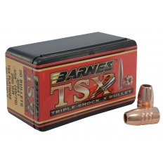 Barnes Bullets .45-70 Caliber (.458 Diameter) 250 Gr. Triple-Shock X Flat Nose- Lead-Free 30629