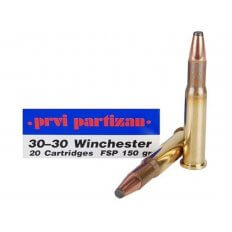 Prvi Partizan .30-30 Winchester 150 Gr. Flat Nose Soft Point- Box of 20