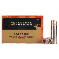 Federal Premium Vital-Shok .454 Casull 300 Gr. Swift A-Frame- Box of 20