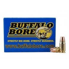 Buffalo Bore .357 Sig 125 Gr. Jacketed Hollow Point- Box of 20