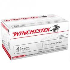 Winchester .45 ACP 230 Gr. Full Metal Jacket- 100 Round Value Pack