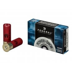 "Federal Power-Shok 12 Gauge 2-3/4"" Buffered 000 Buckshot 8 Pellets F127 000"