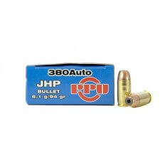 Prvi Partizan .380 ACP 94 Gr. Jacketed Hollow Point- Box of 50
