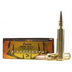 Federal Fusion 7mm Remington Magnum 150 Gr. Spitzer Boat Tail- Box of 20