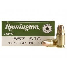 Remington UMC .357 Sig 125 Gr. Full Metal Jacket- Box of 50