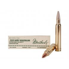 Weatherby .300 Weatherby Magnum 180 Gr. Barnes TSX Bullet Hollow Point- Lead-Free- Box of 20