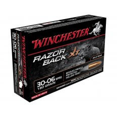 Winchester Razorback XT .30-06 Springfield 180 Gr. Hollow Point- Lead-Free- Box of 20