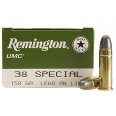 Remington UMC .38 Special 158 Gr. Lead Round Nose- Box of 50