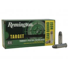 Remington Target .38 Special 158 Gr. Lead Round Nose- Box of 50