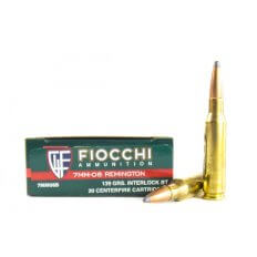 Fiocchi Shooting Dynamics 7mm-08 Remington 139 Gr. Hornady Interlock SPBT 7MM08B