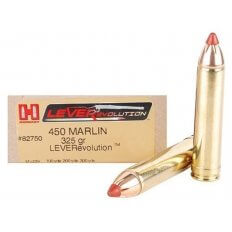 Hornady LEVERevolution .450 Marlin 325 Gr. FTX- Box of 20