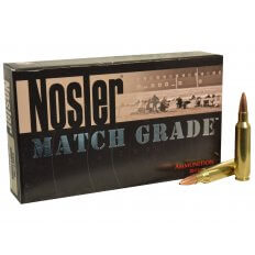 Nosler Match Grade .22 Nosler 77 Gr. Custom Competition Hollow Point Boat Tail 60016