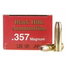Black Hills .357 Magnum 125 Gr. Jacketed Hollow Point- Box of 50