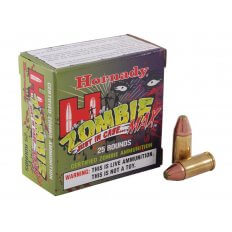 Hornady Zombie Max 9mm Luger 115 Gr. Z-Max FTX- Box of 25