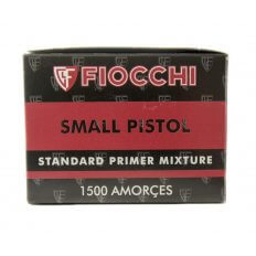 Fiocchi Standard Small Pistol Primers- Box of 1500 (HAZMAT Fee Required)