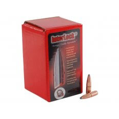 Hornady Bullets .243 Caliber and 6mm (.243 Diameter) 100 Gr. InterLock Boat Tail Spire Point- Box of 100
