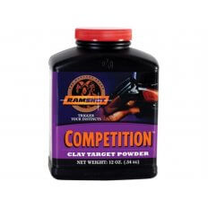 Ramshot Competition Smokeless Powder- 12 Oz. (HAZMAT Fee Required)