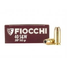 Fiocchi Shooting Dynamics .40 S&W 165 Gr. Jacketed Hollow Point- Box of 50
