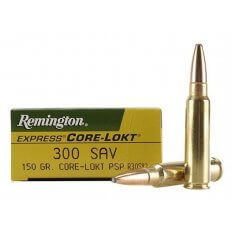 Remington Express .300 Savage 150 Gr. Core-Lokt Soft Point- Box of 20