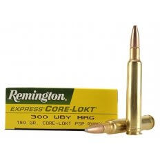 Remington Express .300 Weatherby Magnum 180 Gr. Core-Lokt Pointed Soft Point- Box of 20