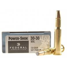 Federal .30-30 Winchester 150 Gr. Soft Point Flat Nose- Box of 20