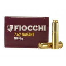 Fiocchi 7.62mm Nagant 98 Gr. Full Metal Jacket- Box of 50