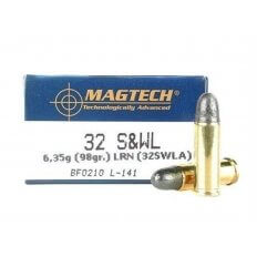 Magtech Sport .32 S&W Long 98 Gr. Lead Round Nose- Box of 50