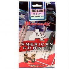 Hornady American Gunner .380 ACP 90 Gr. XTP Jacketed Hollow Point 90107