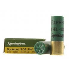 "Remington Express 12 Gauge 2-3/4"" 000 Buckshot 8 Pellets 12B000"