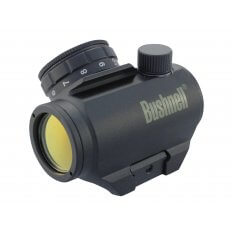Bushnell Trophy TRS-25 Red Dot Sight 1x 25mm 3 MOA Dot with Integral Weaver-Style Mount- Black 731303