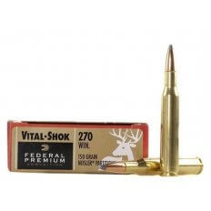 Federal Premium Vital-Shok .270 Winchester 150 Gr. Nosler Partition- Box of 20