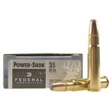 Federal Power-Shok .35 Remington 200 Gr. Round Nose Soft Point 35A