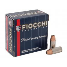 Fiocchi Extrema 9mm Luger 124 Gr. Hornady XTP Jacketed Hollow Point- Box of 25