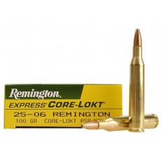 Remington Express .25-06 Remington 100 Gr. Core-Lokt Pointed Soft Point- Box of 20