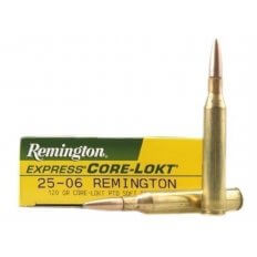 Remington Express .25-06 Remington 120 Gr. Core-Lokt Pointed Soft Point- Box of 20