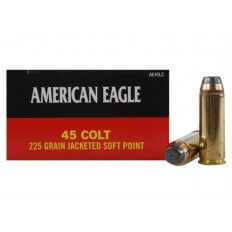 Federal American Eagle .45 Colt (Long Colt) 225 Gr. Jacketed Soft Point- Box of 50