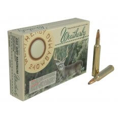 Weatherby .240 Weatherby Magnum 100 Gr. Norma Spitzer- Box of 20