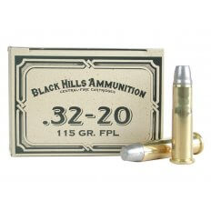 Black Hills Cowboy Action .32-20 WCF 115 Gr. Lead Flat Nose- Box of 50