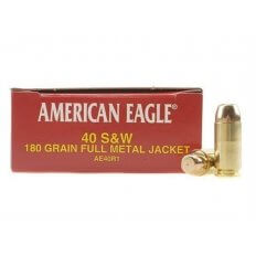 Federal American Eagle .40 S&W 180 Gr. Full Metal Jacket- Box of 50