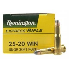 Remington Express .25-20 WCF 86 Gr. Soft Point- Box of 50