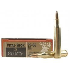 Federal Premium Vital-Shok .25-06 Remington 117 Gr. Sierra GameKing BTSP- Box of 20