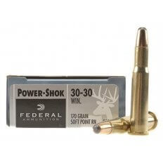 Federal .30-30 Win 170 Gr. Power-Shok SPRN - Box of 20