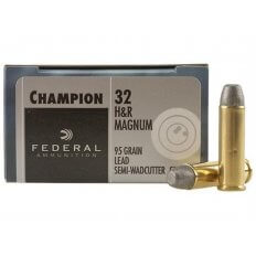 Federal .32 H&R Magnum 95 Gr. Lead SWC - Box of 20